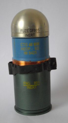 40mm GMG inert rounds