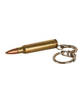 556 Keyring-brass