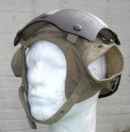 Aircraft carrier deck crew helmet