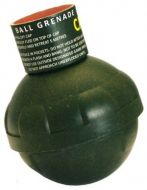 Byotechnics Ball Grenade Friction fuse pea fill