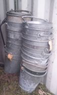 Galvanised fire /water buckets