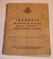 Far East Translation booklet Japanese Phrase book