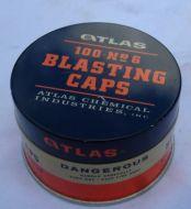 Blasting cap (detonator) Tin