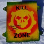 kill zone sign