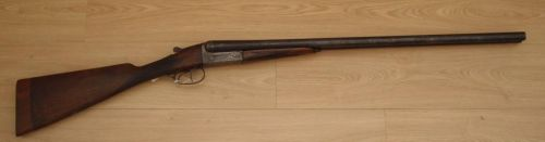 12 gauge side by side boxlock shotgun