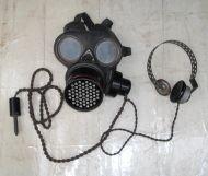Telephonist Gas mask ww2